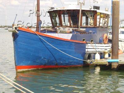George Overy of Lowestoft Converted Motor Fishing Vessel (MFV)