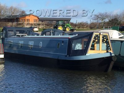 Wide Beam 57ft Cruiser Stern Live Aboard with Mooring