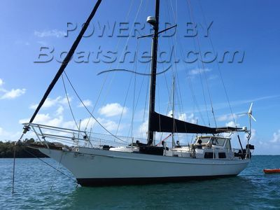 Dudley Dix Hout Bay 40 Wing Keel
