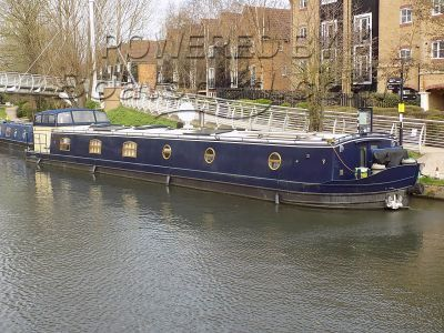 Wide Beam cruiser stern 68ft Kingsley Barge