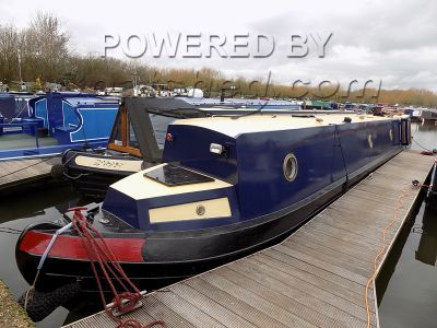 Narrowboat 60ft Trad Stern Newly Refurbished