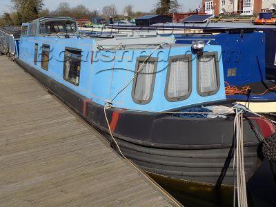 Narrowboat 40ft Deck Saloon