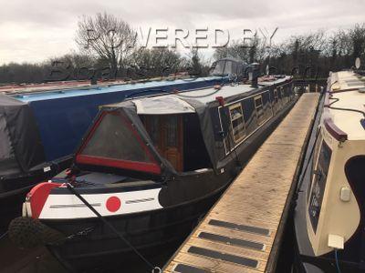 Narrowboat 50ft Trad Stern with Mooring