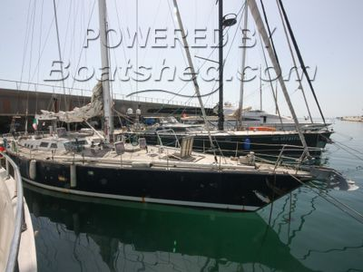 Bordogna Sciomachen 23m Sloop Steel Cutter Rigged Blue Water Cruiser