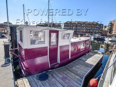 Narrowboat 26ft With London Mooring