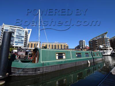 Narrowboat 57ft with London mooring