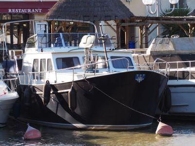 Dutch Steel Motor Cruiser 40 Vedette hollandaise fluviale habitable