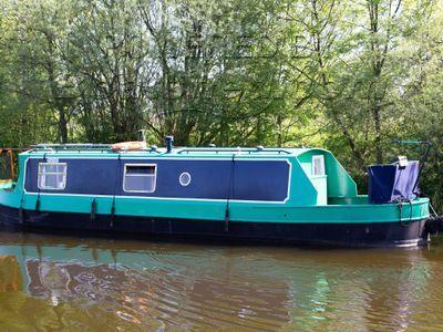 Narrowboat 35ft Cruiser Stern Harmony Boats