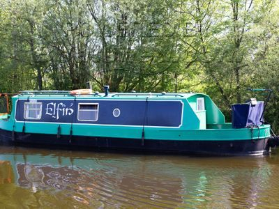 Narrowboat 35ft Cruiser Stern Harmony Boats