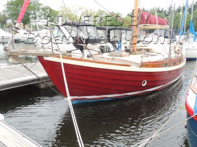 McGruer Bermudan Sloop Classic Wooden Boat