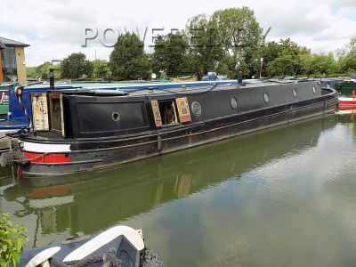 Narrowboat 58ft Trad Stern