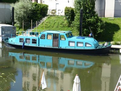 Dutch Steel River Cruiser bateau hollandais logement