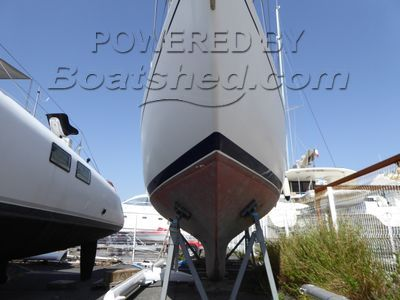 Fahnrich 34 Laminated Wooden Construction Yacht NEW ENGINE