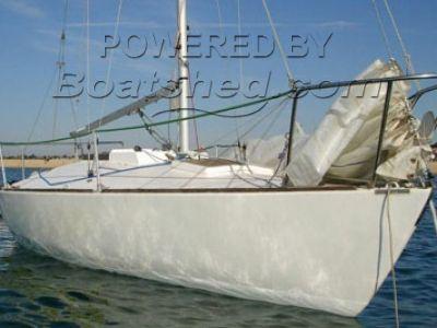 J24 Racing Boat