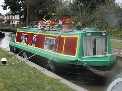 Narrowboat 28ft Cruiser Stern Springer