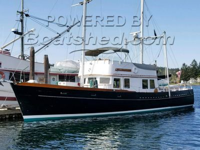 Alden 57 Trawler With Ketch Rig