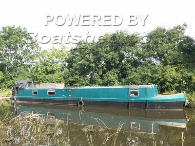Narrowboat 60ft Cruiser Stern
