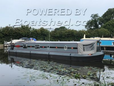 Wide Beam 48ft Cruiser Stern with marina mooring
