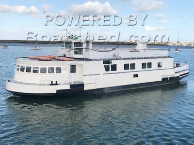 Converted Passenger Ferry double ended steel ferry