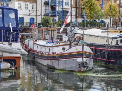 Dutch Barge Luxemotor 51ft With London Mooring