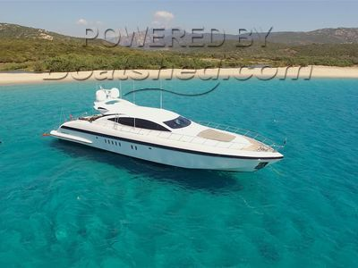 Mangusta 92 3 Cabins + Convertible Lower Salon