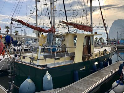 Bruce Roberts PCF 40 Sailing Trawler
