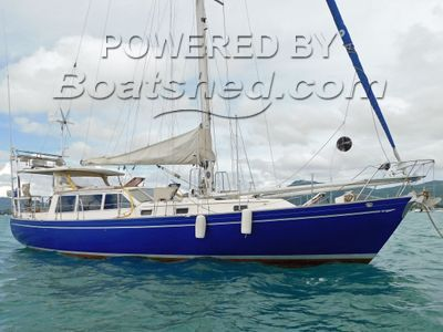 Ted Brewer Three Seas Fourty Pilot House Sloop