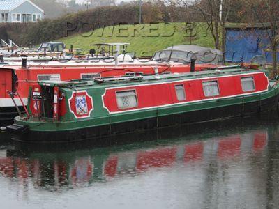 Narrowboat 45ft Trad Stern