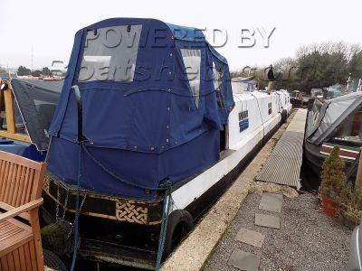 Narrowboat 65ft Cruiser Stern - Cruiser Stern