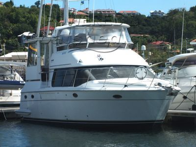 Carver 440 Aft Cabin Twin Cabin