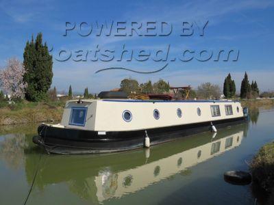Wide Beam 57ft Cruiser Stern live aboard