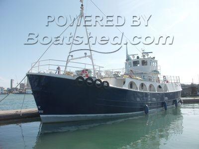 Converted Fishing Trawler Multi Purpose