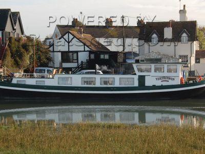 Dutch Barge Klipper Cruising House Boat