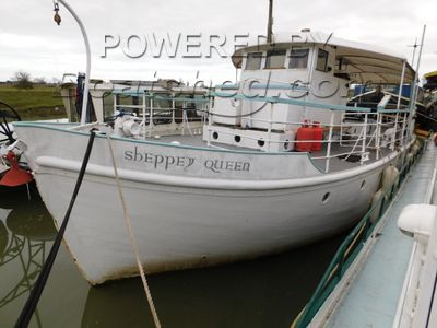 Wooden  Motor Yacht (Twin Screw) Historic Pleasure Craft