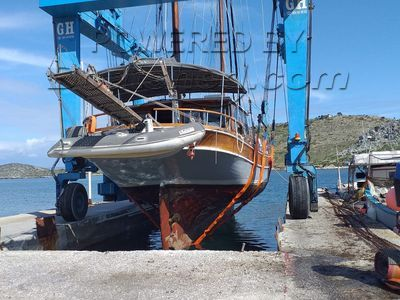Turkish Ketch Motor sailer cutter rig