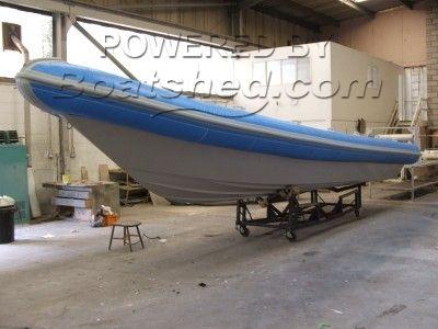 New Crompton 10.5m RIB (Bare Boat)