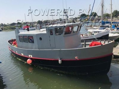 Converted Tug Liveaboard BOW THRUSTER. AFT DECK.