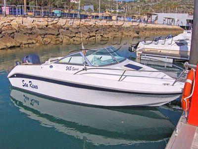 San Remo 565 sports boat