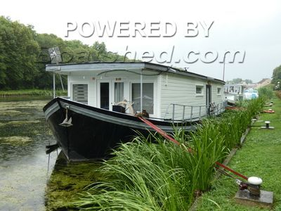 Dutch Barge HOUSE BOAT conversion Live aboard possible