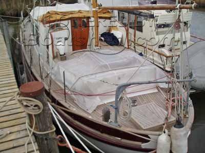Wooden Sailing Ketch