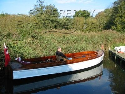 Brookes 1929 Open River Launch