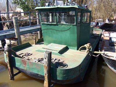1987 Push / Tug River Boat