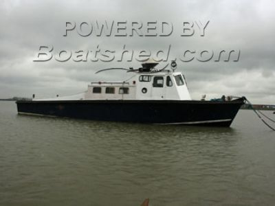 44Ft Wooden Diesel Motor Launch