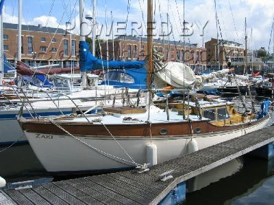 Classic Timber Sloop