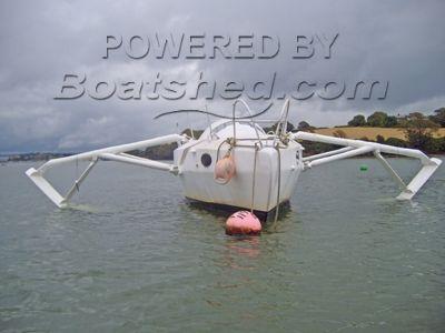 Hydrofoil vessel 24
