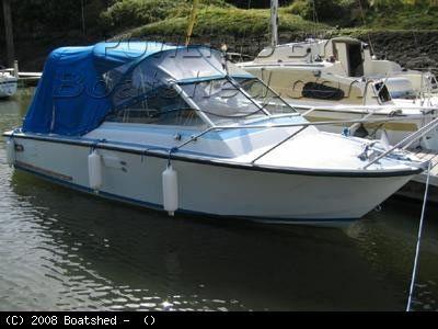 Poole Power Boats Coronet 21DC