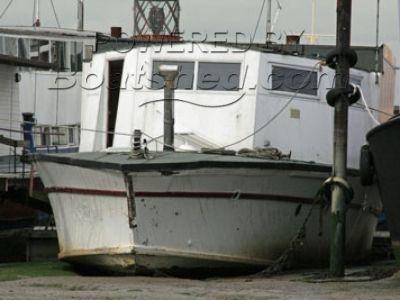 Houseboat, converted  WWII torpedo boat.