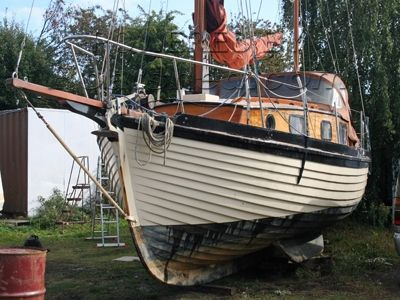 28ft Wooden Seaking Motor sailer.