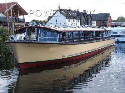 Bourne, Broads Tours Wroxham Passenger Cruiser