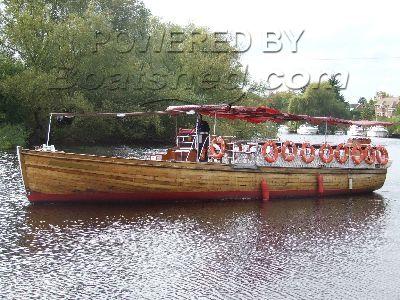 Class V River Passenger Boat